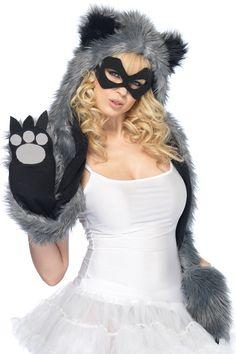 2768c43781eabf Leg Avenue Raccoon Hood. Waschbär-kostümCoole ...