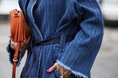 Isabel Marant denim coat | THEFASHIONGUITAR