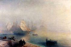 картина Туманное утро в Неаполе
