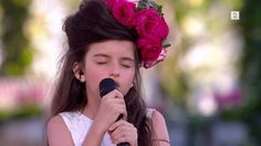 INSANE, ABSOLUTELY INSANE!!!  She is 8 little years old, Angelina Jordan, winner of Norske Talenter 2014, and her voice is so out of this world, you won't even believe your own ears!!   This is her singing 'What a difference a day makes'.
