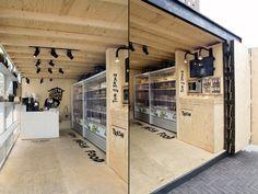 Uit de Keuken van Maass pavilion by Werkstatt65, Amsterdam   Netherlands pop up