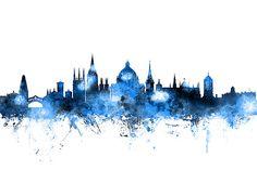 Michael Tompsett - Oxford England Skyline