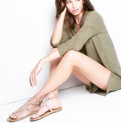 Nerine style sandals in sabbia nubuck... 🖤  Most Chic collection SS18  #grecianstylesandals