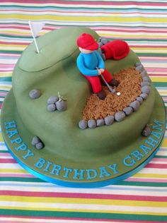 A Golfing Cake by Fancy Fondant