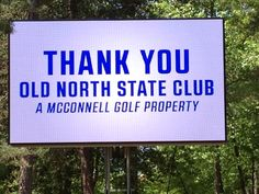The 2015 ACC men's golf championship took place at Uwharrie Point, home of the Old North State Club.