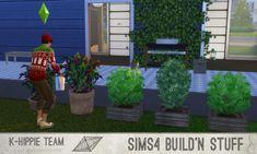 Mod The Sims - 2 Outdoor Planters - Atomik Garden - volume 1