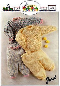 Jarol Knitting Patterns for Baby
