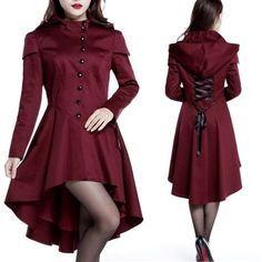 awesome Coat by http://www.polyvorebydana.us/gothic-fashion/coat/