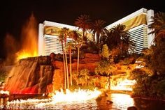 mirage volcano -  I'm gonna see this next time!!