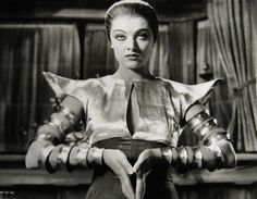 Myrna Loy, retro-futuristic, futuristic clothing, sci-fi movie
