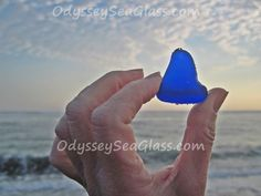 Although not perfectly tumbled, blue this size is a rare find.