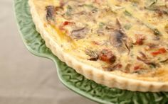 10 bacon recipes for National Bacon Day,National Bacon Day is on Dec. and to celebrate, take a look at 10 inspired bacon recipes. Sweet Breakfast, Breakfast Dishes, Breakfast Recipes, Breakfast Ideas, Easy Quiche, Bacon Quiche, Quiche Recipes, Bacon Recipes, Swiss Cheese Quiche Recipe