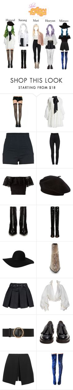 """""""#DEBUT# ' Fear ' Show Music Core Stage"""" by dfyofficial ❤ liked on Polyvore featuring Romance Was Born, River Island, Dolce&Gabbana, Lilou, Philosophy di Lorenzo Serafini, Balenciaga, Gianvito Rossi, Monki, Topshop and Opening Ceremony"""