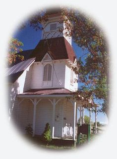 Fort Bidwell, CA. church