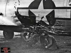 From my mother's sleep I fell into the State, And I hunched in its belly till my wet fur froze. Six miles from earth, loosed from its dream of life, I woke to black flak and the nightmare fighters. When I died they washed me out of the turret with a. B 17, Ww2 Aircraft, Military Aircraft, Aviation Humor, Old Planes, Ww2 Pictures, Nose Art, Military History, World War Two