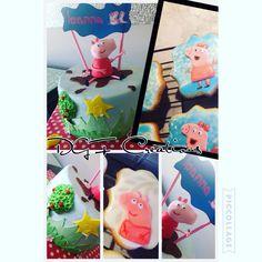 Peppa pig #peppapigcake #peppapigcookies #peppapig #peppapigparty