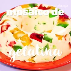 Jello Cake, Jello Recipes, Köstliche Desserts, Delicious Desserts, Dessert Recipes, Yummy Food, Gelatin Recipes, Authentic Mexican Recipes, Mexican Food Recipes