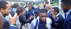 Atlanta students surprised by cheers and encouragement on 1st day of school