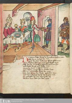 230 [113v] - Ms. germ. qu. 12 - Die sieben weisen Meister - Seite - Mittelalterliche Handschriften - Digitale Sammlungen