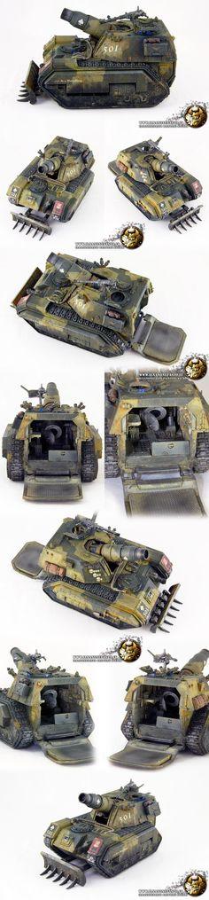 Imperial Guard MEDUSA Forge World - by ilnanonefasto.it