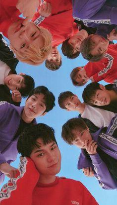 K Pop, Ong Seung Woo, Seventeen Wallpapers, Thing 1, Kim Jaehwan, Ha Sungwoon, 3 In One, Kpop Groups, K Idols