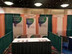 The whole booth, ready for the expo!
