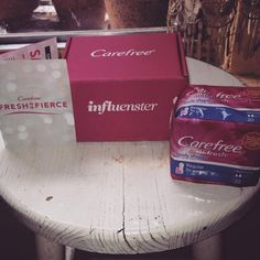 I received this item complimentary form #influenster @influenster #carefree #freshisfierce