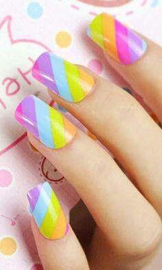 #rainbow #stripes