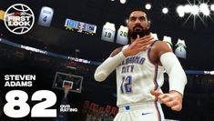 NBA Steven Adams rating dips in new basketball game Thunder Nba, Oklahoma City Thunder, Los Angeles Clippers, Los Angeles Lakers, Basketball Games, Sports Games, Marc Gasol, Fantasy League, Ben Simmons