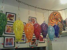 Glassworks of Winthrop Artist Garth Mudge