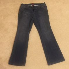 Torrid Jeans Medium wash, slight distressed look. Boot cut. Regular length. No stretch. Very slight signs of wear, not visible. Smoke free home. torrid Jeans Boot Cut