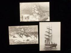 Vintage Maritime Black and White Postcards by MuskRoseVintage