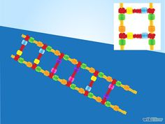 Image titled Make a Model of DNA Using Common Materials Step 13 Science Activities, Science Projects, School Projects, School Ideas, Dna Model Project, Dna Facts, Genome Project, Making A Model, Dna