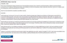 Hae paikkaa osoitteessa http://www.raukola.fi/pages/posts/koodari-paino-arra-oy343.php. Voit hyödyntää haussa kätevästi LinkedIn-profiiliasi tai turvautua perinteisiin keinoihin. Mahdollisissa lisäkysymyksissä sinua palvelee Arja Raukola Oy:stä Satu Särkkä numerossa 0400 503 754.