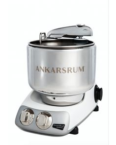 The Ankarsrum Mixer Original In Mineral White Makes The Perfect Gift Because It's So Versatile! #SnappyBreakfast