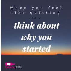 Sometimes in business, things don't always go as planned. If a journalist does not call back, we think PR sucks. When things get tough, we think about quitting. DON'T. Just keep moving forward. #sourcebottle #inspiration