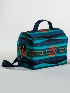 LAHAINA WAVE CANVAS LUNCH TOTE