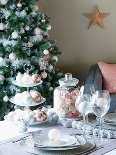 Noël charme sucrée - Décoration de la table - Décoration - Noël - Déco - Maison - Alinéa