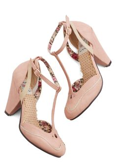 The sweetest pink heels