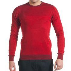 Emporio Armani Men Jumper Logo Pullover Sweater #EmporioArmani
