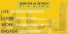 Semester in Detroit is now accepting fall 2016 applications!