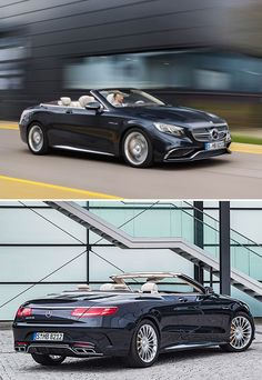 2017 Mercedes-AMG S 65 Cabriolet -  The 2017 S65 Cabriolet is a 2-door 4-seater powered by a punchy 6-liter V12 that churns out 630 horsepower.