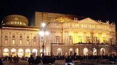 O Teatro alla Scala (ou La Scala), em Milão, é uma das mais famosas casas de ópera do mundo.