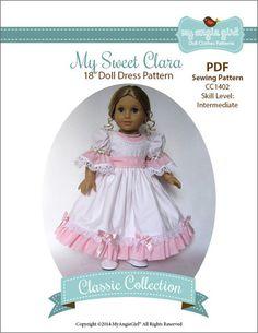 "My Sweet Clara 18"" Doll Clothes"