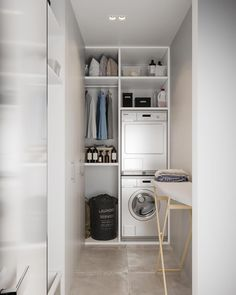 perfect laundry room designs ideas for small space 8 ~ mantulgan.me : perfect laundry room designs ideas for small space 8 ~ mantulgan. Laundry Room Layouts, Small Laundry Rooms, Small Bathroom, Laundry Cupboard, Laundry Closet, Craftsman Bathroom, Bedroom Cabinets, Laundry Room Design, Küchen Design