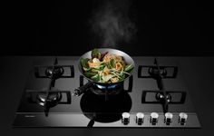 This cooktop is so sleek and lovely, maybe we could just get one and look at it, not cook on it ... fisher-paykel-lp-05