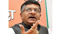 Internet should be open to all, says Telecom Minister Ravi Shankar Prasad