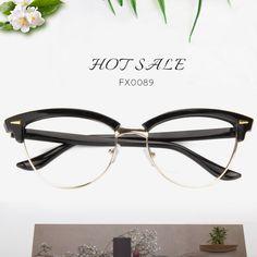 c837ba88173 Megan Browline Eyeglasses FX0089-02 Eyeglasses