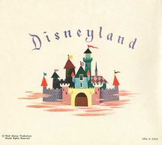 Disneyland Christmas Card