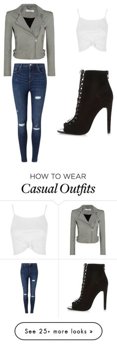 """""""Casual"""" by bridgetmlemons on Polyvore featuring IRO, River Island, Miss Selfridge and Topshop"""